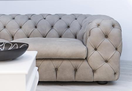 Loft apartment interior, living room detail