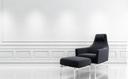 Modern bright interiors 3D rendering illustration Banco de Imagens - 91678172