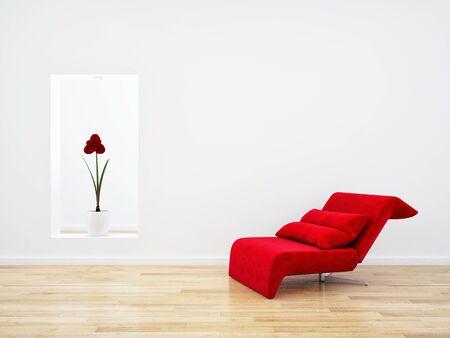 large luxury modern bright interiors Living room mockup illustration 3D rendering computer digitally generated image