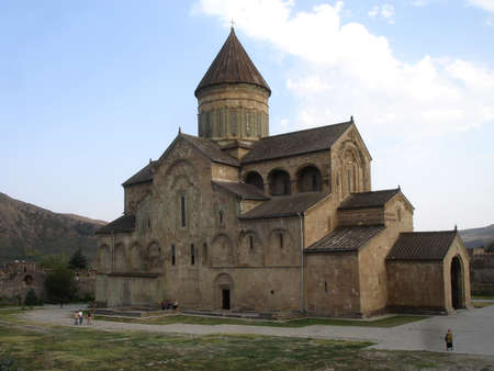 Svetitskhoveli Cathedral is a Georgian Orthodox cathedral located in the historical town of Mtskheta, Georgia, 20 km  12 mi  northwest of the nation photo