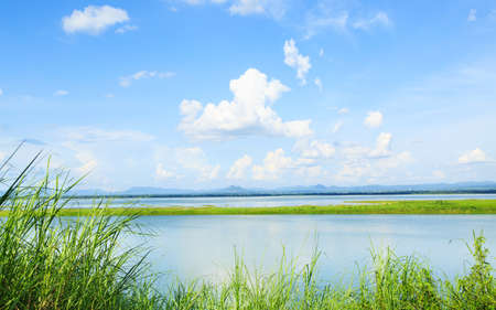 pasak dam in lopburi central of thailand