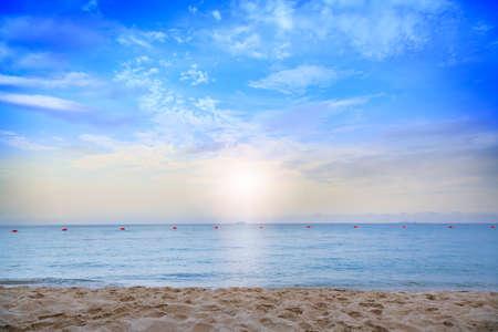 beautiful beach, Chonburi Thailand