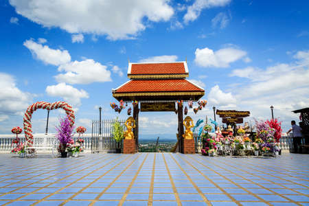 Landscape at wat Phra That Doi Kham, Chiang Mai Thailan
