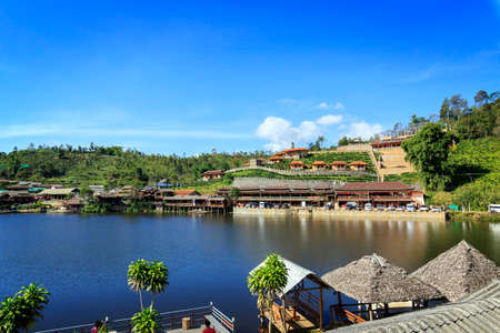 Rak Thai Village a Chinese settlement, Mae Hong Son Thailand