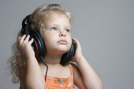 Listen to the music Stock Photo - 5372756