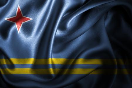 Flags of the world with silky satin texture. Digitally created. Stok Fotoğraf - 103992342