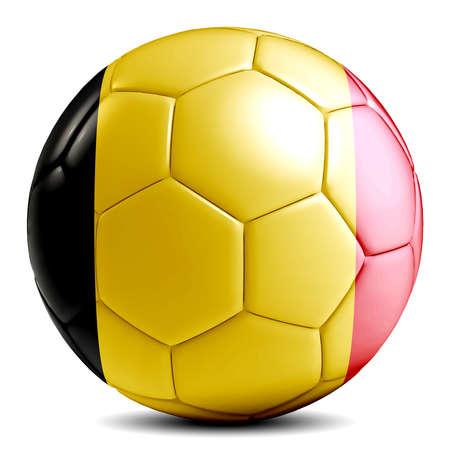 Soccer balls of the world. Digitally created. 版權商用圖片