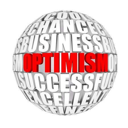 optimismo: optimismo Foto de archivo