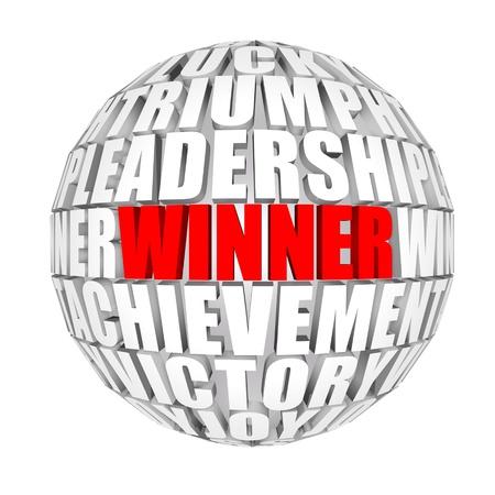 achivement: Winners among us Stock Photo
