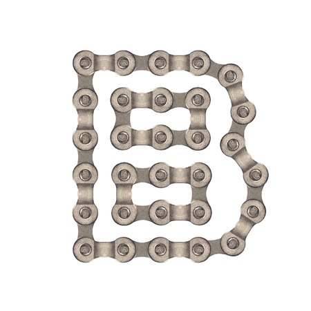 cadenas: Alfabeto de cadena Foto de archivo
