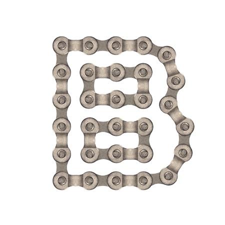 Chain alphabet photo