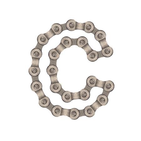 chain alphabet Stock Photo - 9837349