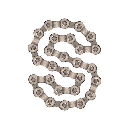 chain alphabet Stock Photo - 9837351