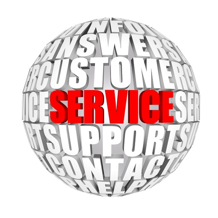 customer support: service