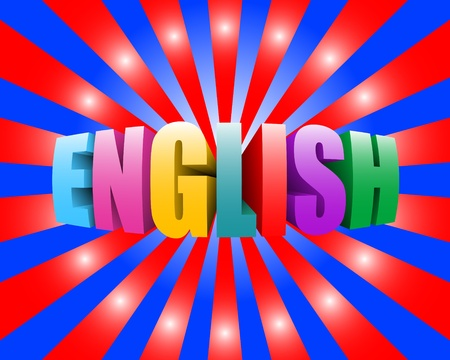 latin language: english Stock Photo