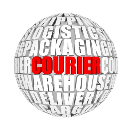 courier: courier Stock Photo