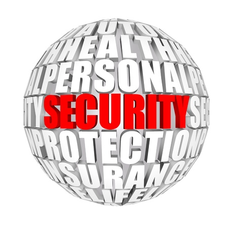 personal finance: security  Stock Photo