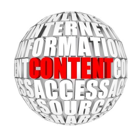 website words: content 4000(5).jpg Stock Photo