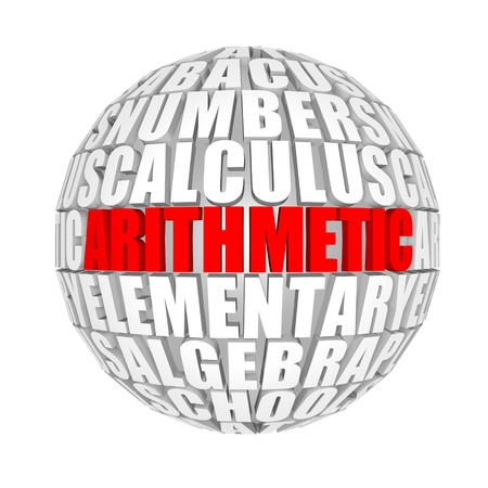 arithmetic Stock Photo - 12210786