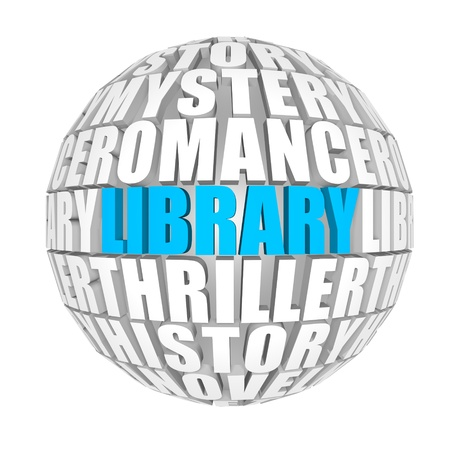3d word: library