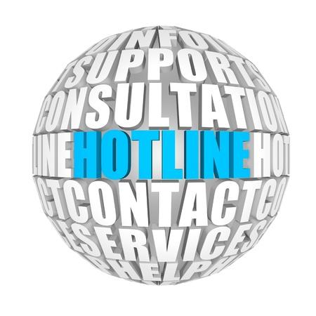 helpline: hotline Stock Photo