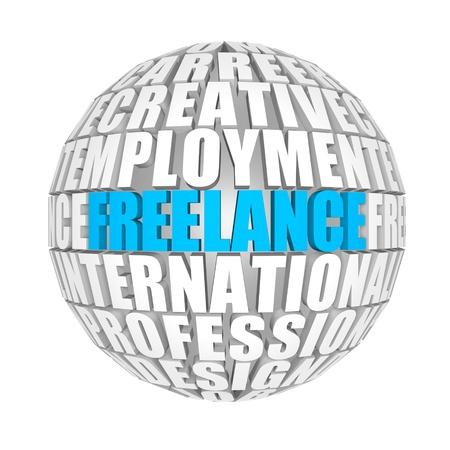 freelance: freelance Stock Photo
