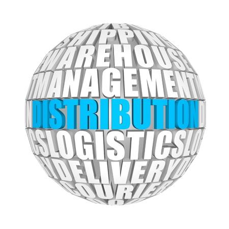 transportation company: distribution Stock Photo