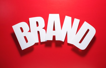 interbrand: the hottest brand Stock Photo