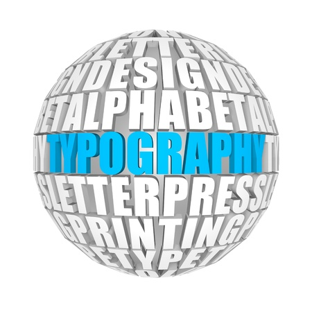 typography Stock Photo - 13995072