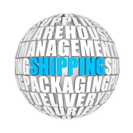 forwarder: shipping Stock Photo