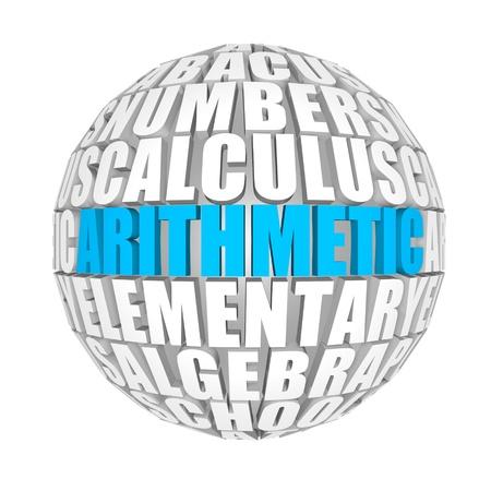 axiom: arithmetic Stock Photo