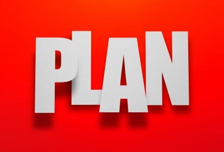 axiom: Do you have a plan  Stock Photo