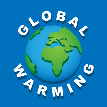 overheat: Global warming leads to the melting of glaciers.