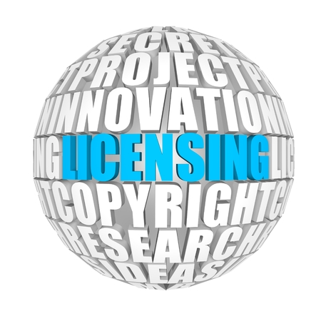 ownership and control: Licensing Stock Photo