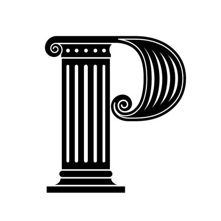 columnas romanas: Fuentes hizo en el viejo estilo cl�sico.
