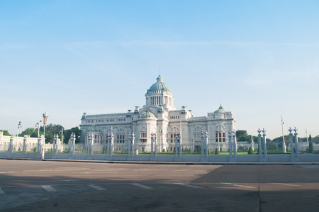 neoclassic: Anantasamakhom Throne Hall, Beautiful Italian Neo-Classic Palace in Bangkok, Thailand