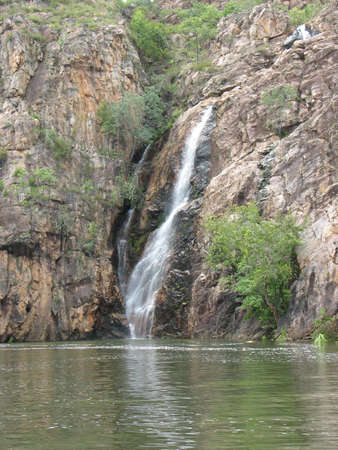 エディス滝、オーストラリアのノーザン テリトリー 写真素材
