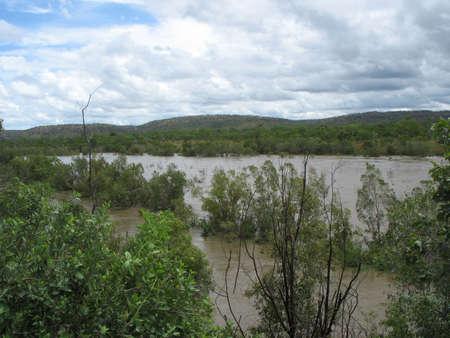 katherine: Katherine River in the Wet Season, Northern Territory, Austalia