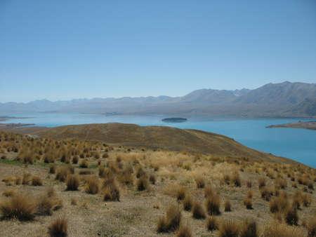 tekapo: Lake Tekapo, South Island, New Zealand