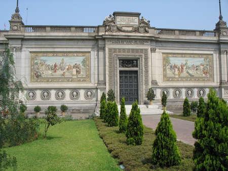 lima: Museum of Italian Art, Lima, Peru Stock Photo