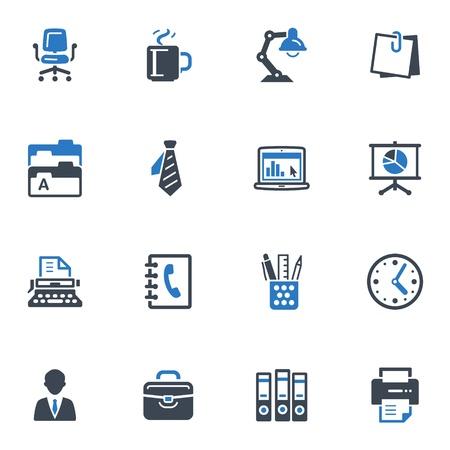 Office アイコン - ブルー シリーズ