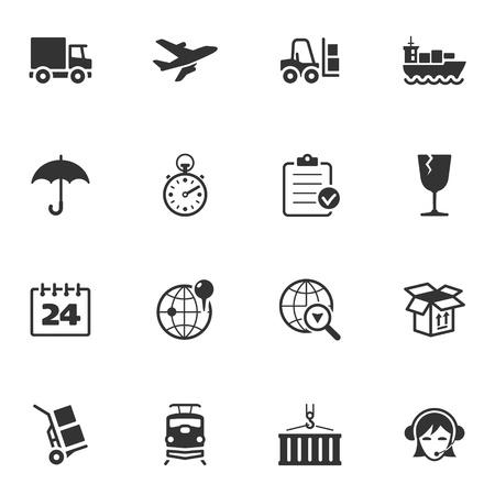 transportation icons: Logistics Icons