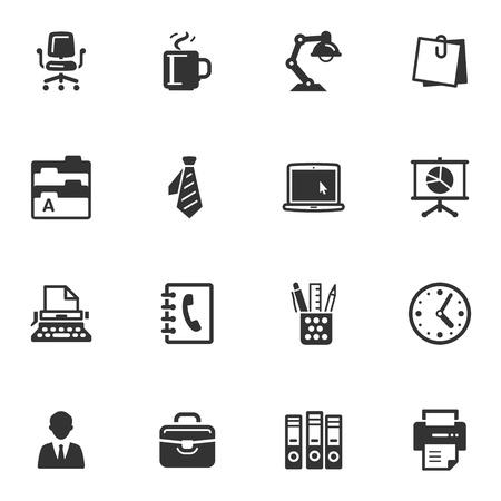 Iconos de Oficina Vectores