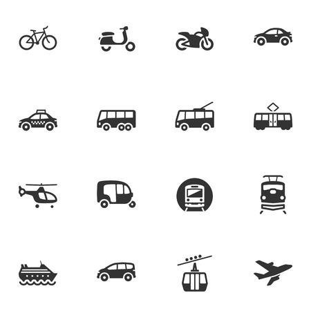 trolleybus: Transportation Icons