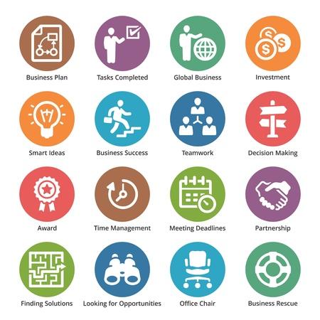 Business Icons Set 3 - Dot Series