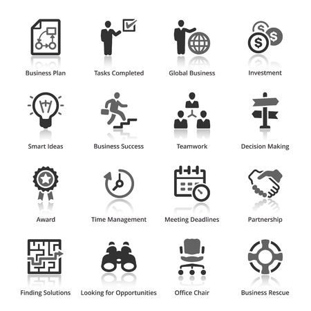 Zakelijke Icons - Set 3