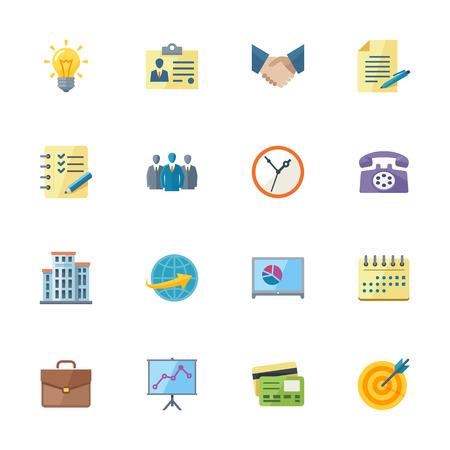 Business Flat y los iconos de Office