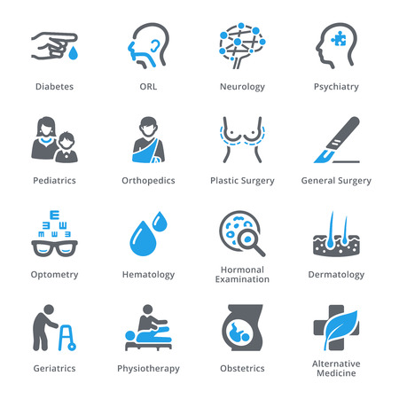 Medical Specialties Set 2 - Sympa Series