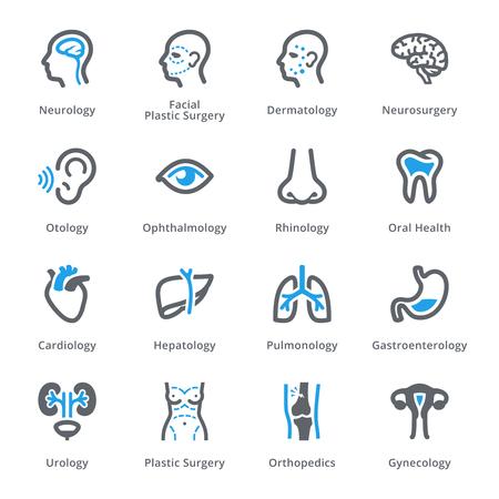 Medical Specialties Set 1 - Sympa Series