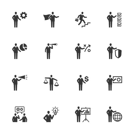 Business Management Icons - Set 2 矢量图像